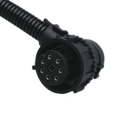 Image for Straight & 90° 8 way Bayonet Plug Connector