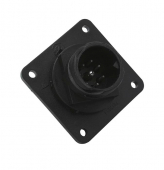 Image for 8 Way Bayonet Socket Connector (Suitable for bulk head mounting)
