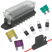 Image for Fuses, Fuse Holders & Fuse Boxes