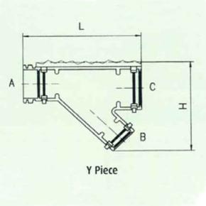 Y Piece Drawing